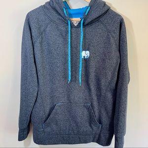 ivory ella Tops - IVORY ELLA Charcoal Grey Hooded Sweatshirt Size L